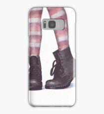 Dr Martens boots by Helga McLeod Samsung Galaxy Case/Skin