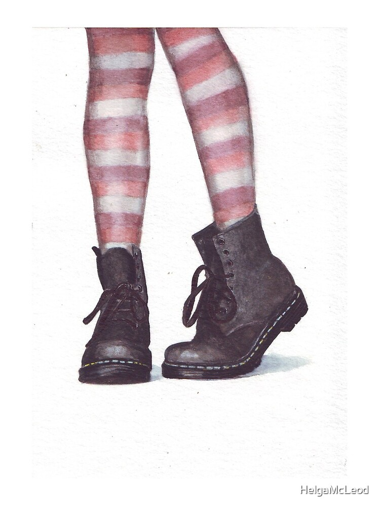 Dr Martens boots by Helga McLeod by HelgaMcLeod