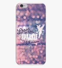 Leave a Little Sparkle Wherever You Go iPhone Case