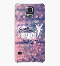 Leave a Little Sparkle Wherever You Go Case/Skin for Samsung Galaxy
