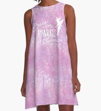 Leave a Little Sparkle Wherever You Go A-Line Dress