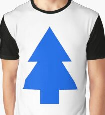 Dipper Pines Tree Shape // Gravity Falls Graphic T-Shirt