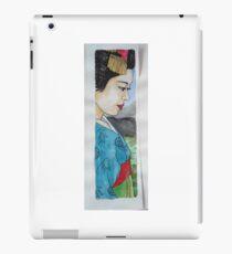 coloured Geishia iPad Case/Skin