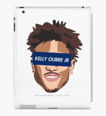 SUP-KELLY OUBRE JR (6) BLUE iPad Case/Skin