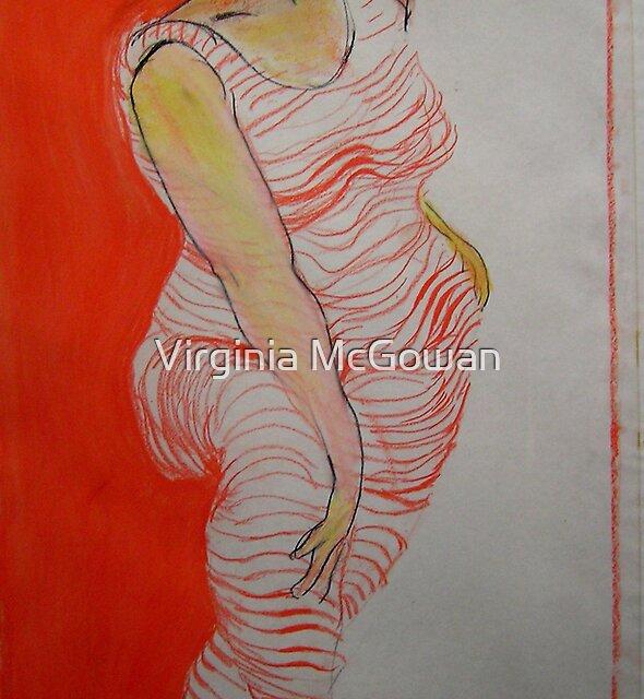 Orange hoops by Virginia McGowan