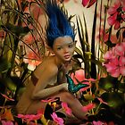 Indigo Featherdust by shutterbug2010