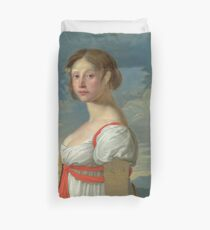 Italian - Portrait Of A Woman Duvet Cover