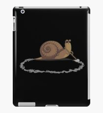 clever snail iPad Case/Skin