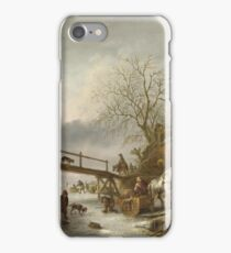 Isack Van Ostade - A Winter Scene iPhone Case/Skin