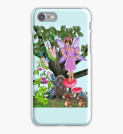 watching over twins  (2441 Views) iPhone Case/Skin