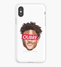 SUP-KELLY OUBRE JR (2) RED iPhone Case/Skin