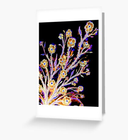 Dancing in the Moonlight - Flowers Greeting Card