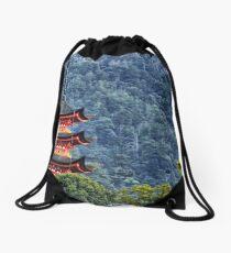 pagoda Drawstring Bag