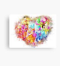 Dragon Ball Super Squad Canvas Print