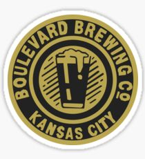 90's Boulevard Beer Co. Bottle Cap Sticker