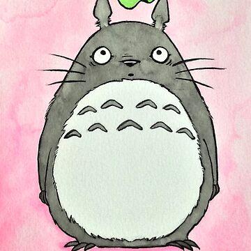 Inky Totoro by Tanuwidjaya