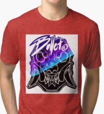 Bullet© vaporwave Tri-blend T-Shirt