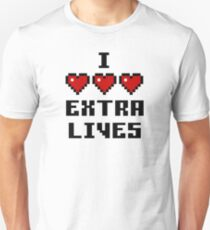 Love Extra Lives - Light Suitable Unisex T-Shirt