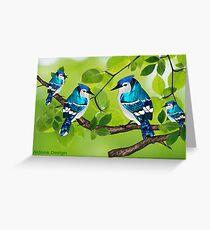 Blue jays (3711 views) Greeting Card