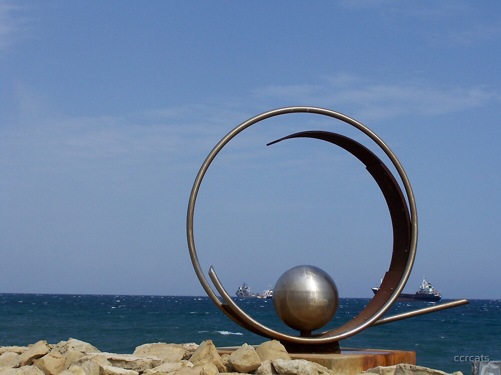 Steel sculpture.  by ccrcats