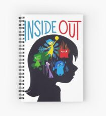 Inside Out Spiral Notebook