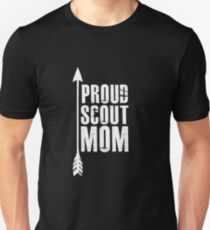 Proud Scout Mom - Parent Father of Boy Girl Club Unisex T-Shirt