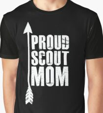 Proud Scout Mom - Parent Father of Boy Girl Club Graphic T-Shirt