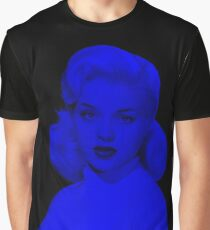 Diana Dors - Celebrity (Dark Fashion) Graphic T-Shirt