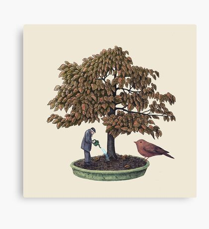 Enchanted Bonsai  Canvas Print