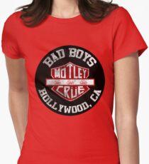 Motley Crue Bad Boys Womens Fitted T-Shirt
