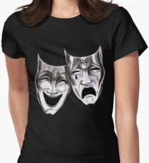 Motley Crue Theatre of Pain Womens Fitted T-Shirt