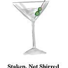 Staken, Not Shirred... by Douglas polancih