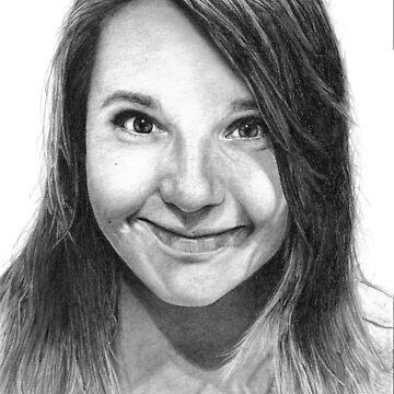 Lindsay Jones Drawing by DanceKaitoDance