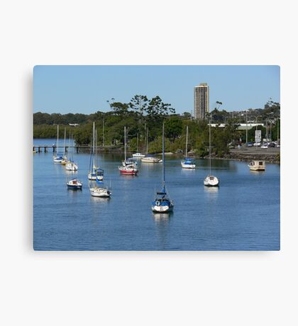 Tweed Heads and the Tweed River Canvas Print