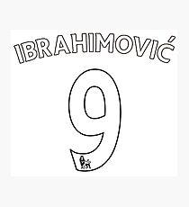 ibrahimovic Photographic Print