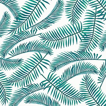 Palm Leaf Pattern by mariaheyens