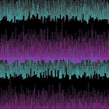 CGA pixelscape by FelisAstrum