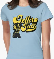 music rock 70s Womens Fitted T-Shirt