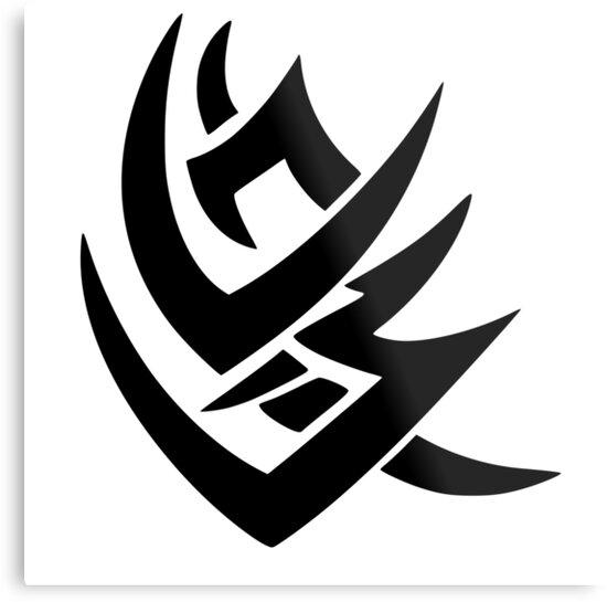 Takibi Clan Symbol Naruto Metal Prints By Freeburn Redbubble