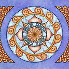 2017/01 Mandala with Celtic Knots by Angelique Moorman