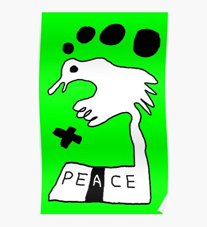 The Troubled Peace Dove Poster