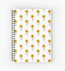 Lovely Sunflower Spiral Notebook