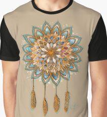 Golden Dreams Dreamcatcher Graphic T-Shirt