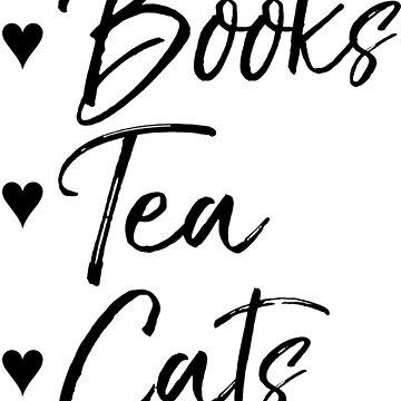 Libros, té, gatos de DanaAndTheBooks