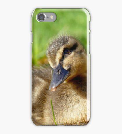 Pretty Please - Daffy Rescued Duckling - NZ iPhone Case/Skin