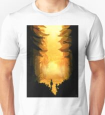 Legend Has It That The Moss Grows On The North Side Of The Trees Unisex T-Shirt