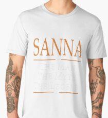Sanna The Man The Myth The Legend Tshirt T-Shirt  Men's Premium T-Shirt