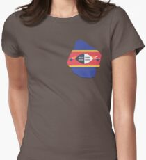 Swaziland Womens Fitted T-Shirt