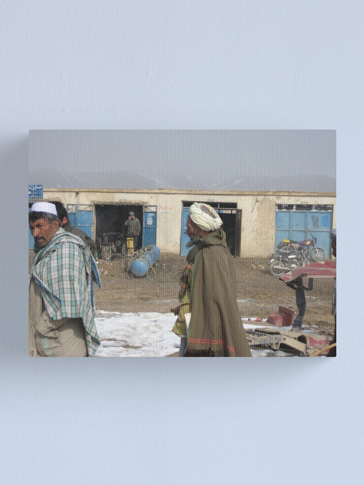Alternate view of Life (Afghanistan) 5 Canvas Print