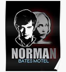 Norma-Norman Bates Motel Poster
